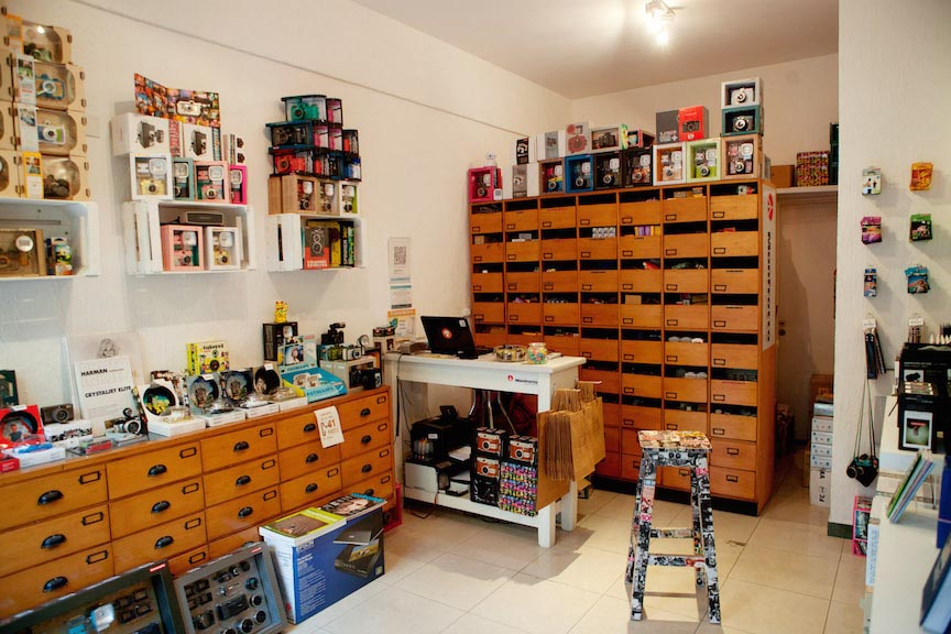 Lomography Embassy Store Buenos Aires (C41 Photo)