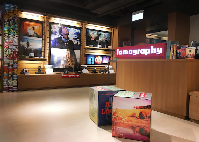 Stores Lomography