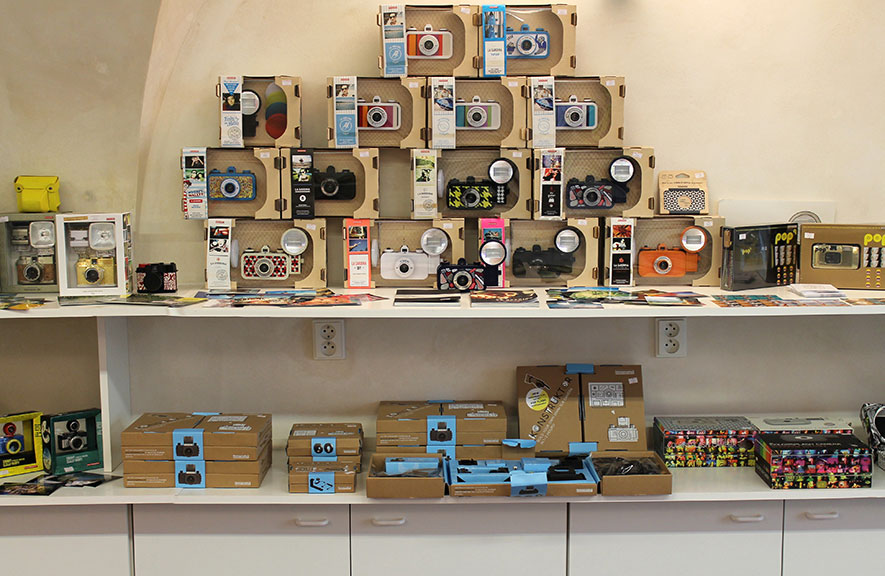 Lomography Embassy Store Prague
